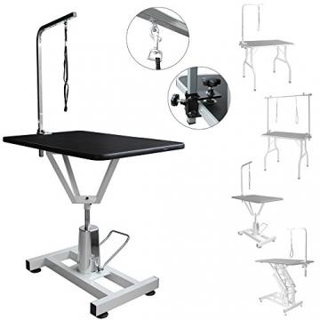 V2Aox Trimmtisch Schertisch Pflegetisch -